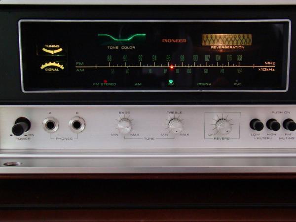 First big gun – Pioneer SX-9000   silverfacestereo