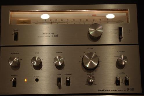 Pioneer SA-6500ii TX-5500ii combo
