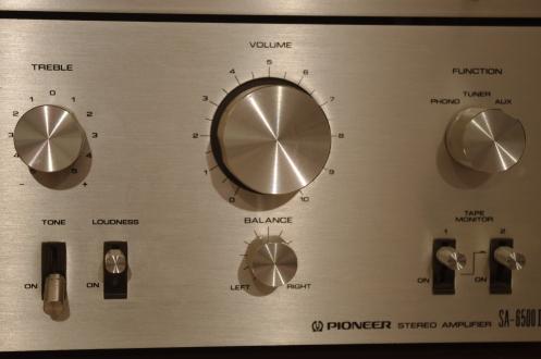 Pioneer SA-6500ii volume knob