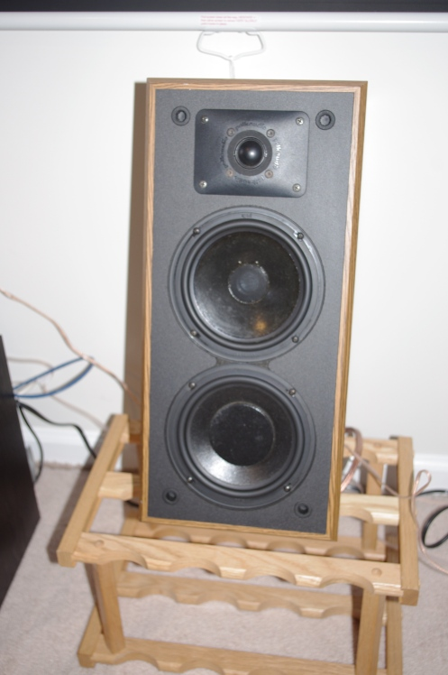 Polk Monitor 5JR Series II with SL2500 tweeter. ALso recapped - sounds great as my HT center channel