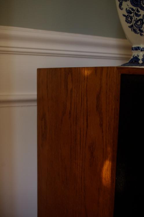 Klipsch KG4. Nice cabinet veneers