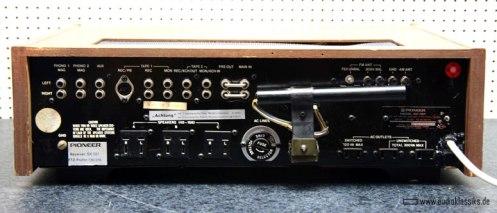 Pioneer SX 727 rear
