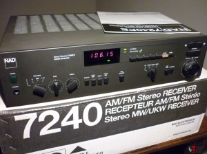 NAD 7240 PE in all its glory. Courtesy Canuck Audiomart