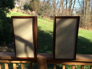 KLH 20s in the fall sun