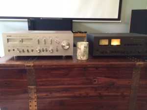 Yamaha CA-1010 and NAD-3080