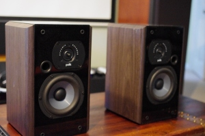 Polk Lsi7 Speakers. Mirror-Imaged