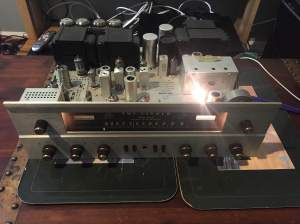 Fisher 500C back from the dead and sounding great